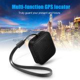 Facilement cachées Mini GPS tracker personnel avec appel d'urgence SOS A18