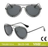 China-neuer Entwurfs-heißer Verkauf polarisierte Frauen-Sonnenbrillen (112-A)