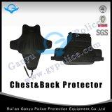 Caixa e protetor traseiro do anti terno do motim