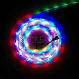 DC 24V IP68 imperméable à l'eau SMD5050 RGB Digital LED Strip Light