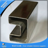 AISI304, tubo speciale dell'acciaio inossidabile di figura AISI316 per l'inferriata
