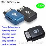 Inseguitore di GPS veicolo/dell'automobile con l'interfaccia T206 di Obdii