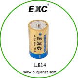 Heiße Größen-super alkalische Batterie-trockene Zellen-Batterie der Verkaufs-trockenen Batterie-1.5V Lr14 C