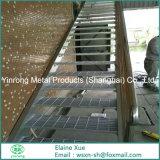 Pisada de escalera de acero del precio bajo
