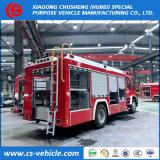 Isuzu 4X2 Emergency Löschfahrzeug-Feuer-Rettungs-LKW-Feuerbekämpfung-LKW mit Wasser-und Schaumgummi-Becken