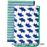 印刷の赤ん坊の浴室毛布は高品質の毛布を包む