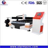 Eje de rotación del tubo de metal de alta calidad de corte máquina cortadora de Plasma 1530 1325 1224