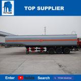 Titaan 45000 van de Brandstof van de Tank van de Aanhangwagen van de Tri van de As Liter Aanhangwagens van de Olietanker