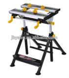 Inclinable réglable en hauteur du plan de travail Workbench pliable Table de travail Outils de menuiserie (YH-WB001E)