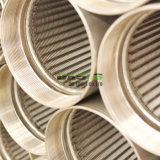 Bildschirm-Filterröhre-Rohr-Größe des Keil-304 316L des Quellfilters des Wasser-9-5/8