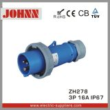 IP67 3p 16A High End Type Plug para Industrial