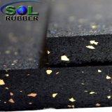 Stuoia commerciale della pavimentazione di ginnastica del rullo di gomma di Crossfit di resistenza al fuoco