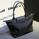 Tamanhos de nylon Emg4693 da tela 3 das bolsas do desenhador do couro genuíno de saco de Tote