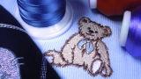 Incandescenza in filetto scuro del ricamo di Lucence per i bambini che coprono gli abiti sportivi correnti di usura con una caratteristica decorativa speciale supplementare con un'incandescenza luminosa dello scuro