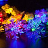 Vacaciones Boda Multicolorful Tierra Solar tira la cadena de Decoración de pared bombilla LED Linterna Bola Lámpara de luz