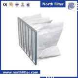 Filtro multi galvanizado superficie extendida de los bolsillos del marco