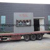 Presse chaude de contre-plaqué de porte en bambou de panneau faite à la machine en Chine