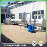 Dessiccateur de déchets de bois de biomasse de flux d'air de grande capacité pour la chaîne de production en bois de boulette