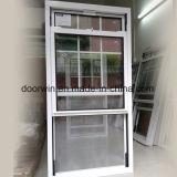 American solo salto térmico colgado de la ventana de aluminio, doble ventana de colgado