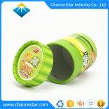 Tubo de papel cartón redonda personalizada para el dinero de donación de moneda