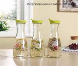 シールのふたのガラスワインの記憶のびんジュースの瓶ガラスの容器が付いている熱い販売法のガラスビン