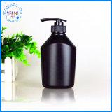 L'usine neuve de type fournissent directement les bouteilles en plastique noires de shampooing