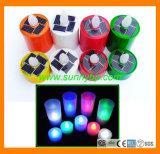 Красочные солнечной энергии при свечах для производителей декоративного освещения