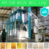 Ugali、アフリカのFufuのための機械を作るトウモロコシの小麦粉
