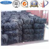 Neumático inútil que recicla la máquina al negro del aceite combustible y de carbón