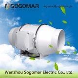 Baixo ruído de ventoinha do duto do ventilador do extrator 125mm