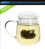 280ml borran la taza de cristal del filtro del té de Gonfu con Infuser
