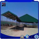 Fornecedor de construção Prefab profissional materiais de construção para a casa de fazenda de gado