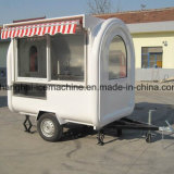 Remorque mobile Jy-B37 de restauration de kiosque de nourriture
