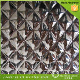 201 de in reliëf gemaakte Decoratieve Bladen van het Roestvrij staal