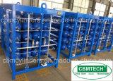 Cilindros de gás médicos 79L do óxido de etileno do aço inoxidável