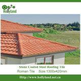 Mattonelle di tetto d'acciaio rivestite di pietra (mattonelle romane)