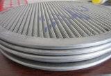 304 316 гофрированной нержавеющей стали диск сетчатый фильтр/фильтр Pack