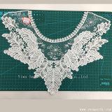 方法綿のネックレスの刺繍のレースカラーファブリック織物の衣服のアクセサリ