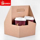Несущие питья кофейной чашки 2 пакетов бумажные