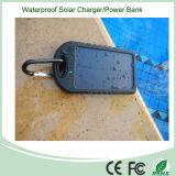 Côté imperméable à l'eau 5000mAh d'énergie solaire avec l'éclairage LED (SC-01)
