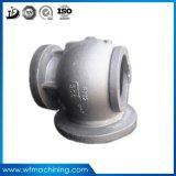 Válvula da carcaça da carcaça da precisão do aço inoxidável do OEM do processamento do metal