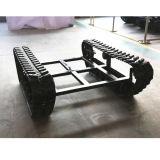 Châssis / châssis à chenilles en caoutchouc pour petite machine (taille réglable)