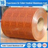 3003/3004の合金のアルミニウムコイルの木製の上塗を施してある壁パネル