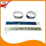 Wristbands de papel de la identificación del VIP del partido de encargo de la hospitalidad de Tyvek (E3000-1-53)