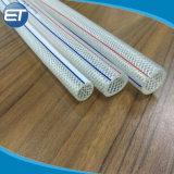 PVC reforçado com fibra trançada coloridos do tubo de borracha de tubos de líquido com a norma ISO9001