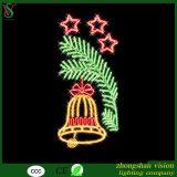 van de LEIDENE van 2D Kerstmis het Motief Verlichting van de Kabel