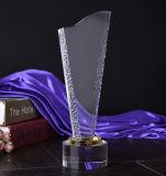Premio trofeo de cristal Nº 1 del pulgar por el Premio del número uno