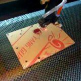 De acryl Houten Machine van de Gravure van de Laser