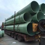 Tubo de gás de preços do tubo de gás natural da conexão do tubo de gás de PRFV com material plástico reforçado por fibra