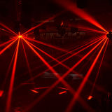 LED Double Derby Effect Light para Stage Disco DJ (HL-055)